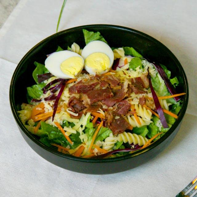 Quinoa Beef Bacon Salad
