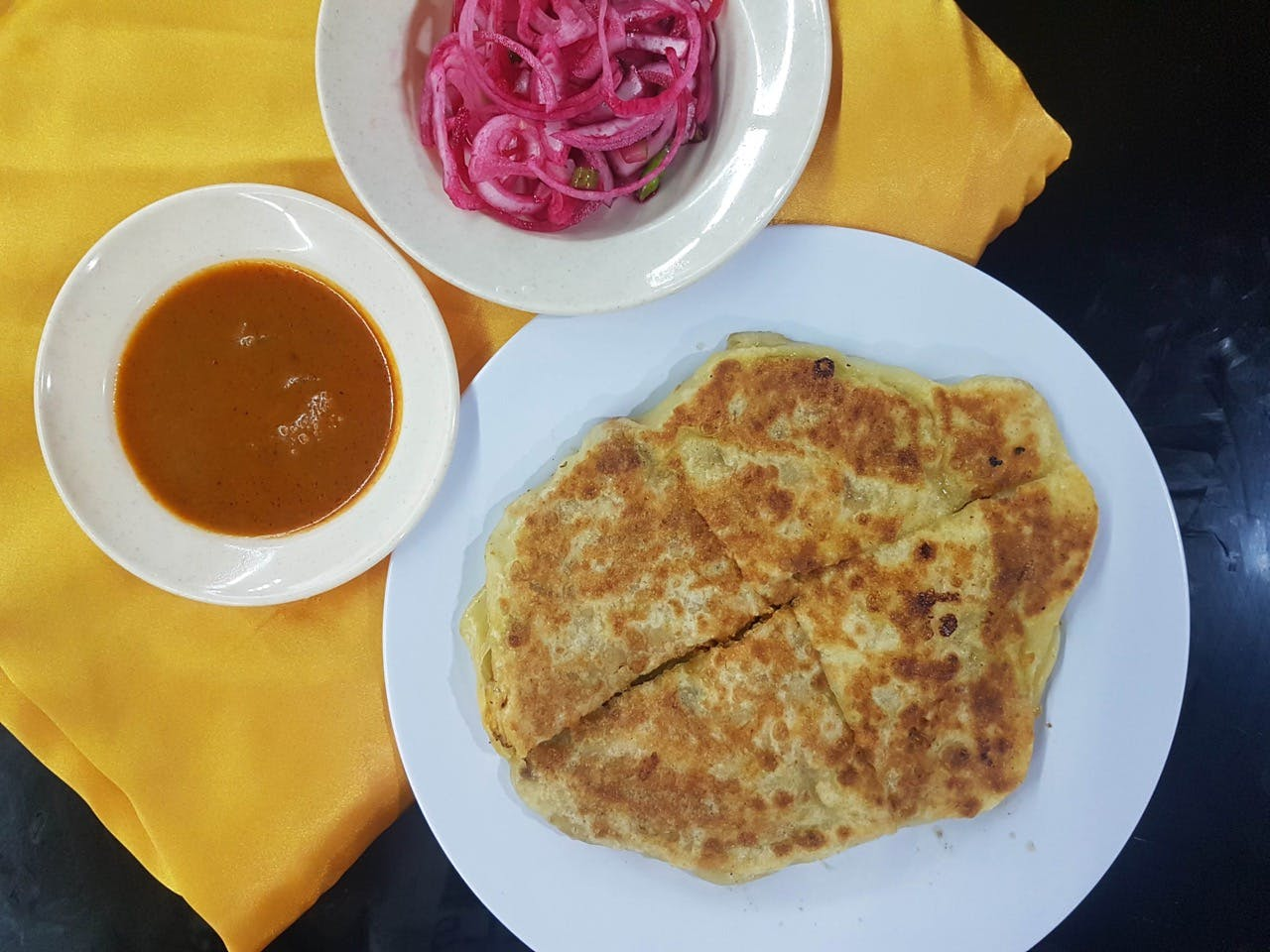 Murtabak (Chicken or Lamb)