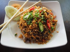 Thai Style Fried Rice (Beef)