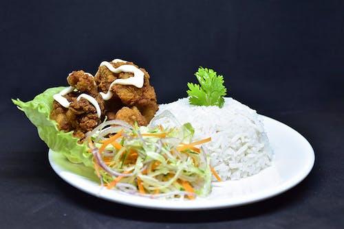 Salad Chicken Rice