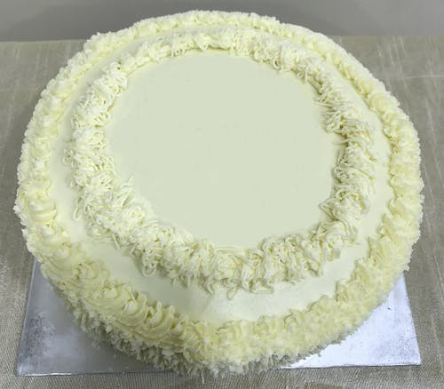 Butter Cake with Butter Icing