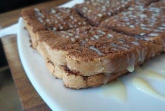 Roti Bakar Milo & Susu