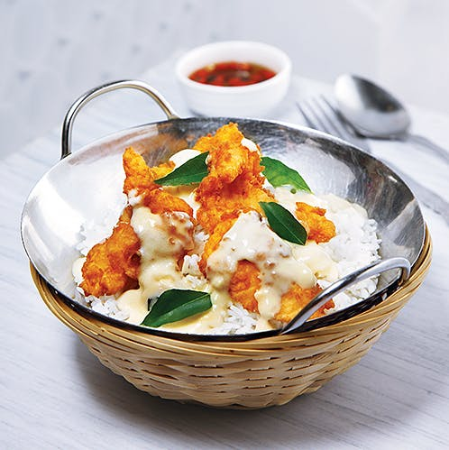 Butter Chicken/Fish Rice