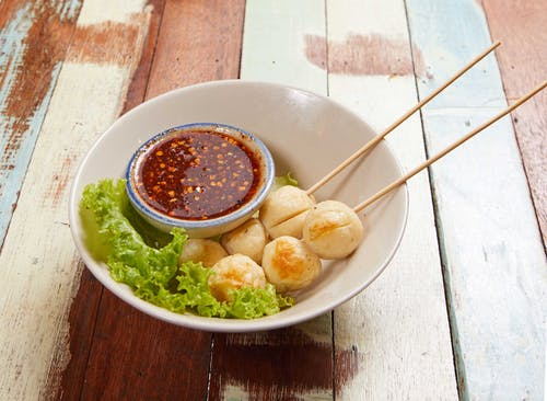 F03 Grilled Chicken Meat Ball