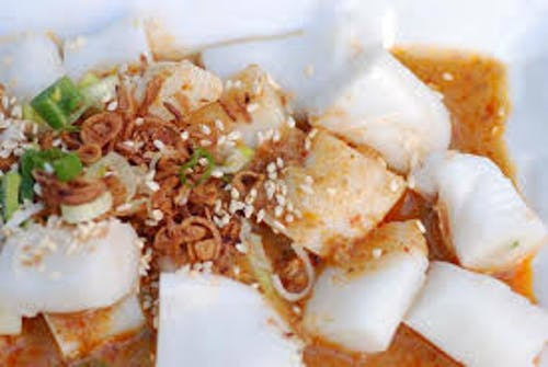 Rolled Chee Cheong Fun with Curry Gravy (3pcs)