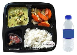 Bento Thai Green Curry Chicken Set