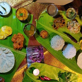 Banana Leaf Meal - Vegetarian Chicken Set (2Pax)