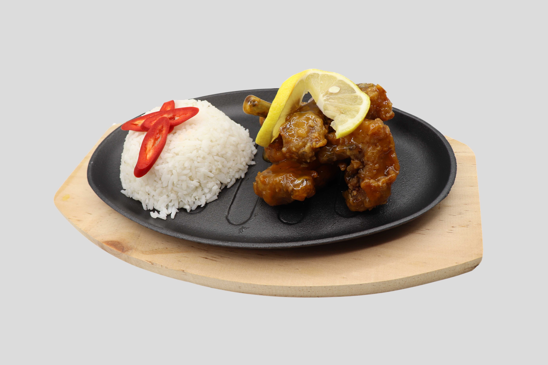 Lemon Chicken Rice