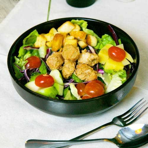 Teriyaki Bites Salad (Chicken)