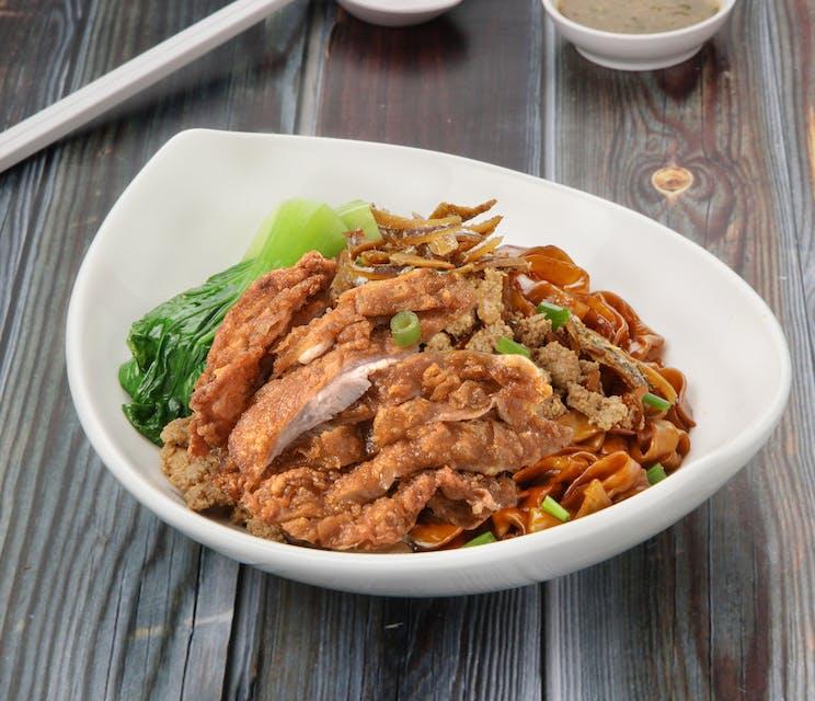 Crispy Chicken Chili Pan Mee
