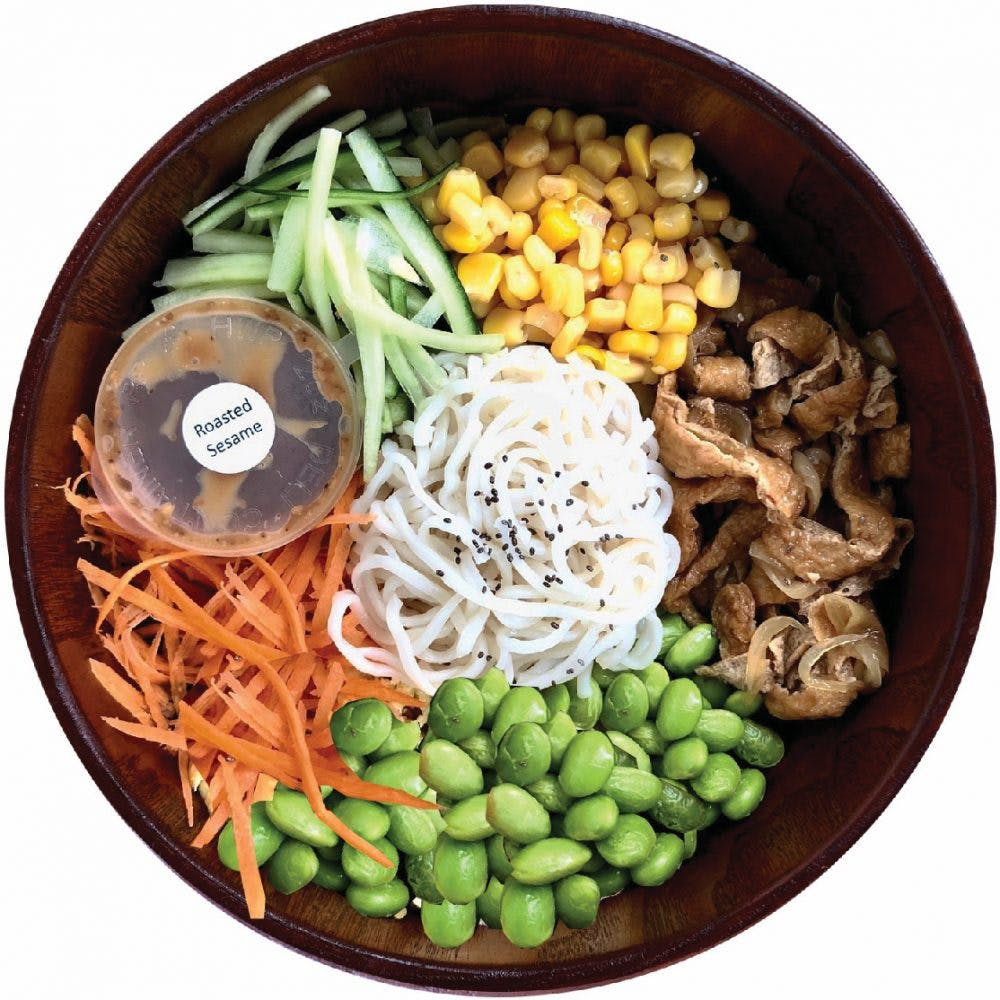 Vegan Ramen Salad