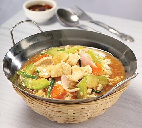 Bitter Gourd Chicken Rice