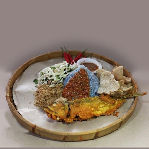 Nasi Kerabu Ikan Kembung (fish)