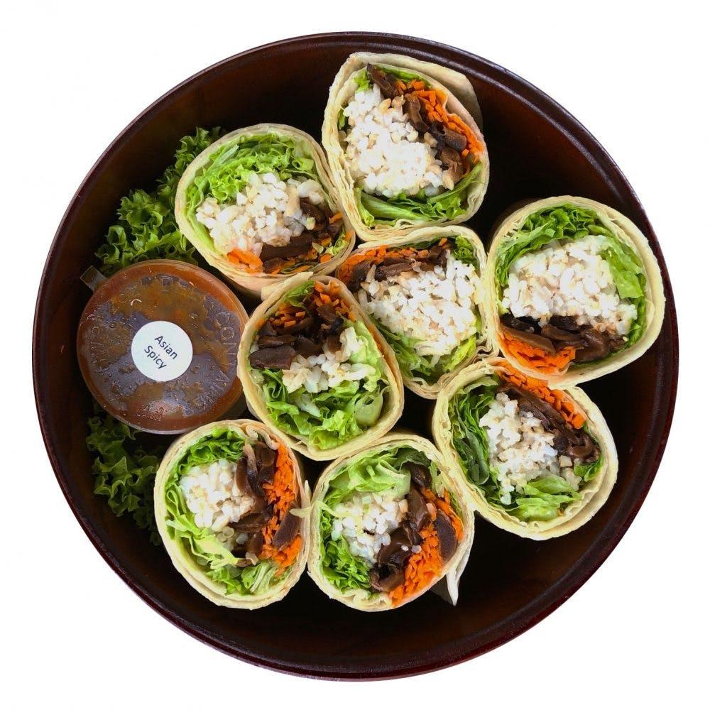 Vegan Mushroom Wrap