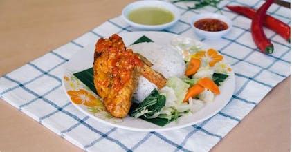 Set B Nasi Ayam Goreng Balado
