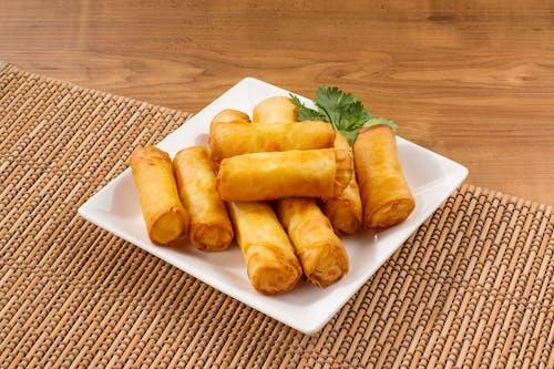 Fried Vegetables Rolls