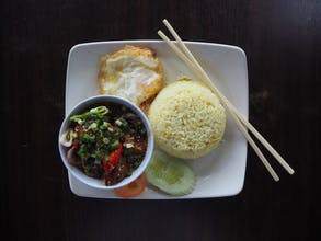 Honey Chicken Fried Rice