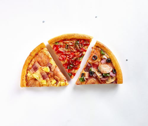 1/2 Pizza