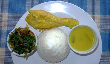 Nasi, Ayam Lemak Kuning