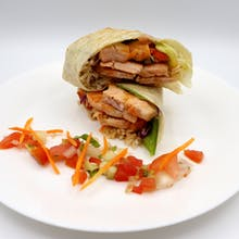 Salmon Fish Fillet Wrap